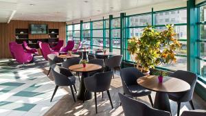 Restoran või mõni muu söögikoht majutusasutuses Hestia Hotel Susi