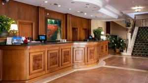 The lobby or reception area at Be Live Collection Son Antem