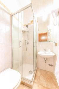 A bathroom at Soggiorno Downtown