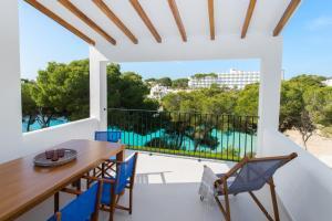 Balkon lub taras w obiekcie Inturotel Esmeralda Villas