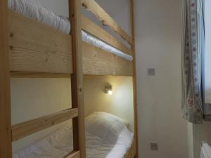A bunk bed or bunk beds in a room at Residence Pralin
