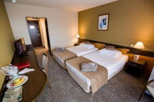 Cama o camas de una habitación en Ana Hotels Europa Eforie Nord