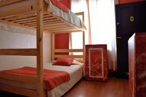 Litera o literas de una habitación en Landay Hostel