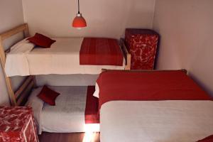 Cama o camas de una habitación en Landay Hostel