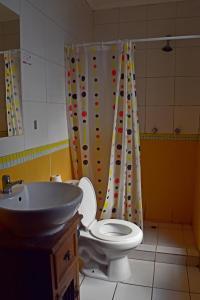 Un baño de Landay Hostel