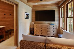 A television and/or entertainment center at Hotel Lanai