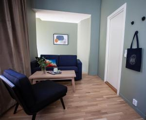 A seating area at Frogner House Apartments - Arbins gate 3