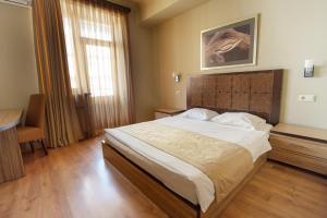 Cama o camas de una habitación en Kantar Hostel