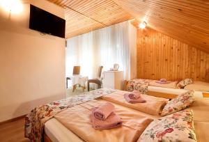 Postel nebo postele na pokoji v ubytování Bed & Breakfast Dada House