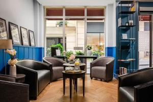 Zona de estar de Hotel Elysée Etoile