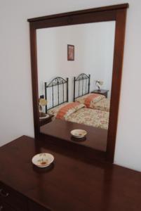 Letto o letti in una camera di Casale San Felice