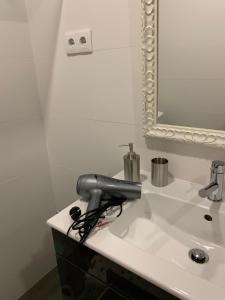 A bathroom at Douro Real Apartments