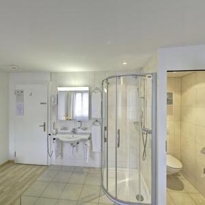 A bathroom at Hotel Sporting