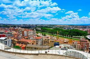 Ibis Lleida с высоты птичьего полета