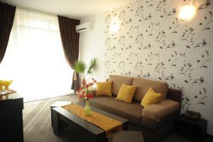 O zonă de relaxare la Hotel Pinguin