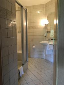 Ванная комната в Landhaus Göke