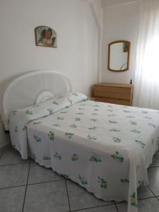 A bed or beds in a room at Da Giacomina