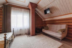 """Гостиная зона в """"Татьянин дом"""" с баней и бассейном"""