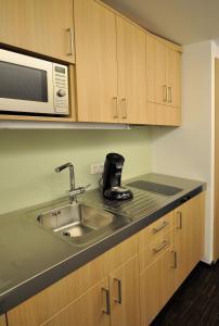 Küche/Küchenzeile in der Unterkunft Apart2stay