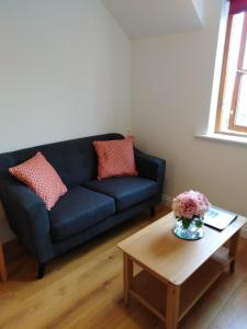 A seating area at Burren Court