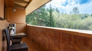 Балкон или терраса в Сосновый Бор, парк-отель