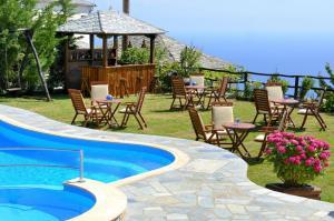 Πισίνα στο ή κοντά στο Ξενοδοχείο Ζαγορά