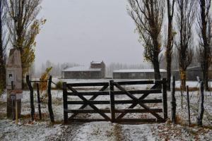 Finca Los Arrieros - Cabañas durante el invierno