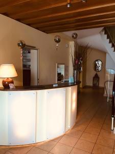 Lobby/Rezeption in der Unterkunft Hotel Gasthof Rose
