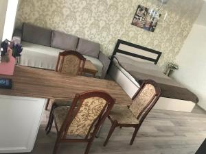 Гостиная зона в Apartment on Lenina 29