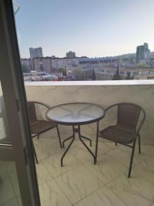 Балкон или терраса в Апартаменты «На Горького 87»