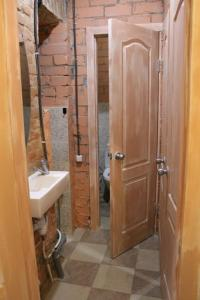 Ванная комната в Hostel v Dnepropetrovske Grunge