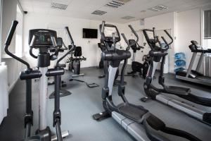 The fitness centre and/or fitness facilities at Salomons Country House