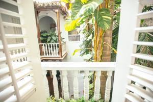 A balcony or terrace at Amarla Boutique Hotel Cartagena