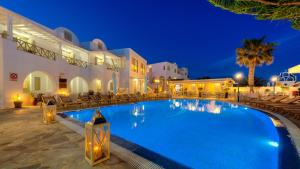 The swimming pool at or near Hotel Mathios