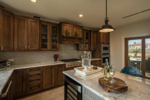 A cozinha ou cozinha compacta de Lacolina Villa