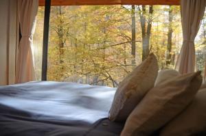 Cama o camas de una habitación en La Montaña
