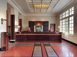 The lobby or reception area at Azerai La Residence, Hue