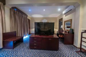 A television and/or entertainment center at Sunbird Capital