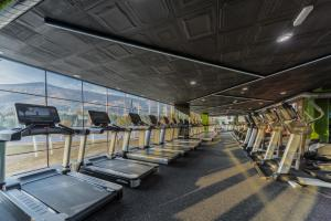 The fitness center and/or fitness facilities at Emirates Apart Residence
