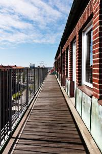 A balcony or terrace at Best Western Arena Hotel Gothenburg