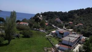 Άποψη από ψηλά του Vontzos Hotel
