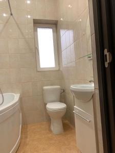 Ванная комната в Guest House Chernomorye