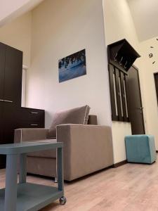 Телевизор и/или развлекательный центр в Guest House Chernomorye
