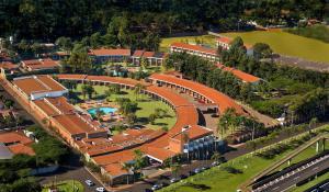 Uma vista aérea de Royal Tulip JP Ribeirão Preto