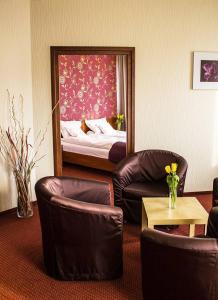 Część wypoczynkowa w obiekcie Hotel Litwiński