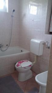 Koupelna v ubytování Apartment Ankica
