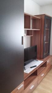 TV a/nebo společenská místnost v ubytování Apartment Ankica