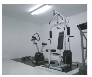 Gimnasio o equipamiento deportivo en Elegance Hotel