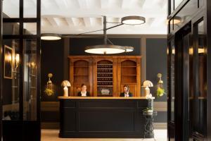 Hall ou réception de l'établissement Hôtel Longemalle