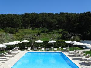 The swimming pool at or near Masseria Bandino
